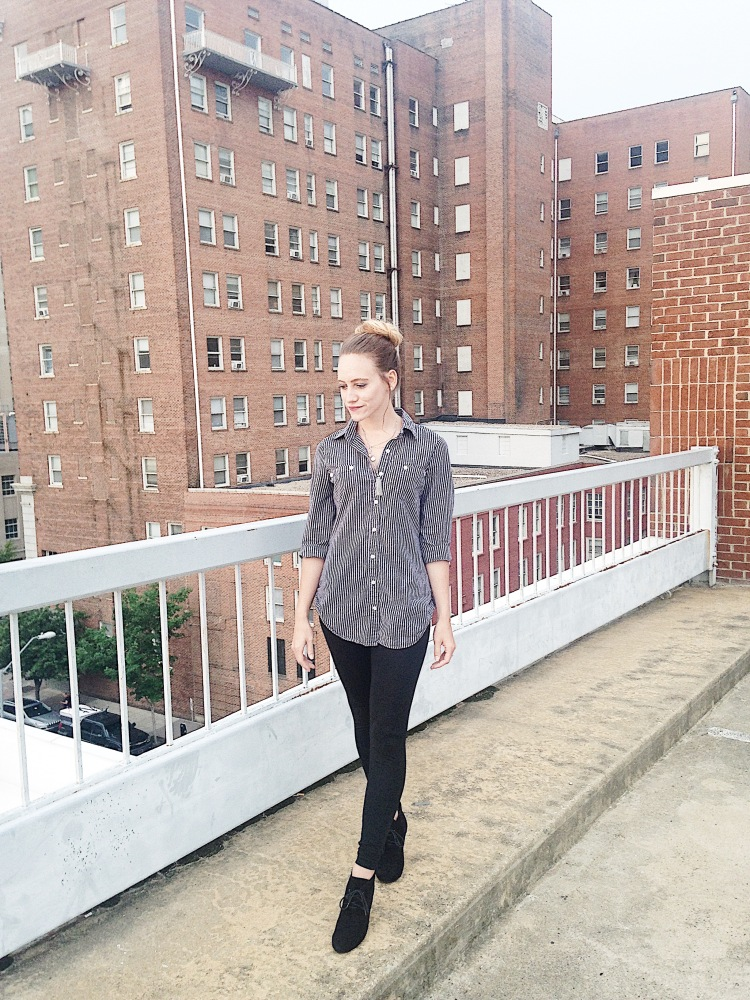 How To Rock A Boyfriend Top – Courtney Livingston