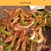 Grilled Venison Backstrap Fajitas