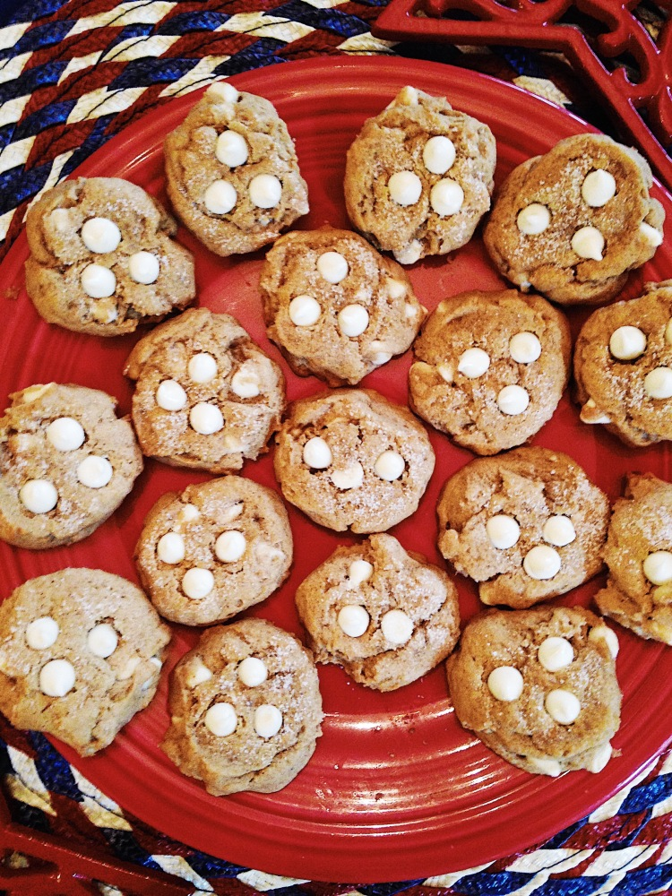 Pumpkin White Chocolate Chip Cookies by Courtney Livingston