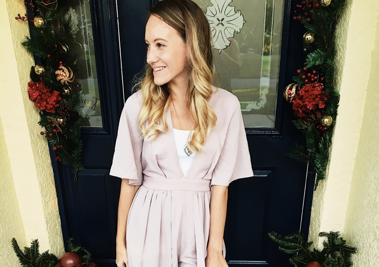 Holiday Party Style: Pink Is The New Red by Courtney Livingston