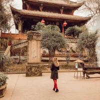 Qingyang Temple + Insomnia Struggles