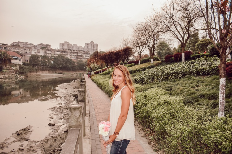 Chengdu China: Spring, Flowers, Fashion, Parisian by Courtney Livin