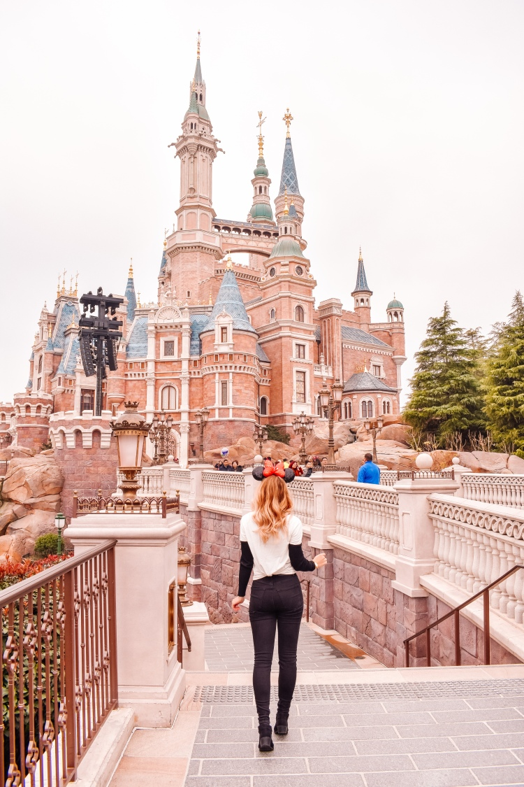 Disneyland Shanghai Courtney Livingston